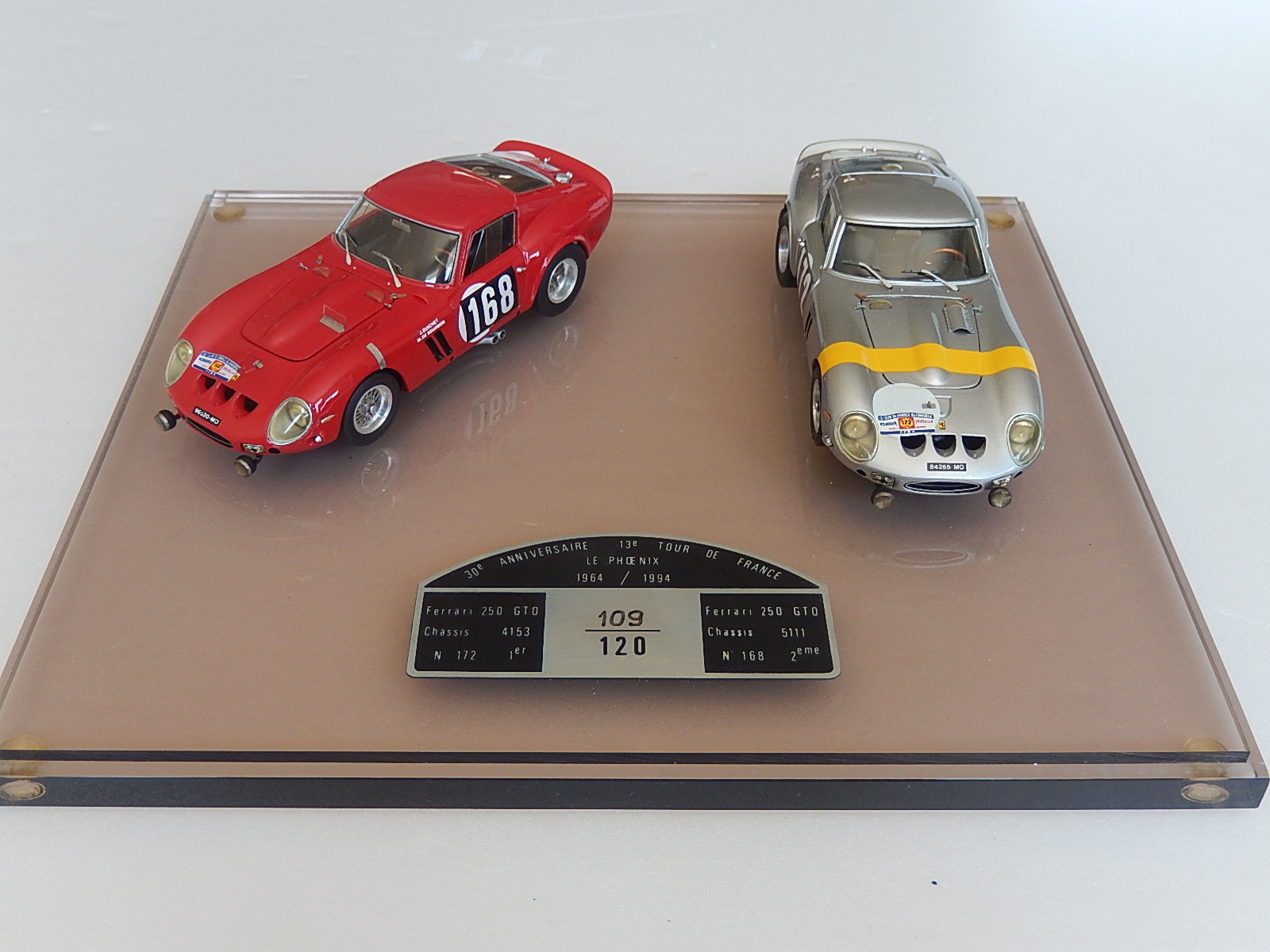 AM Ruf : Ferrari 250 GTO Tour de France 1964 set